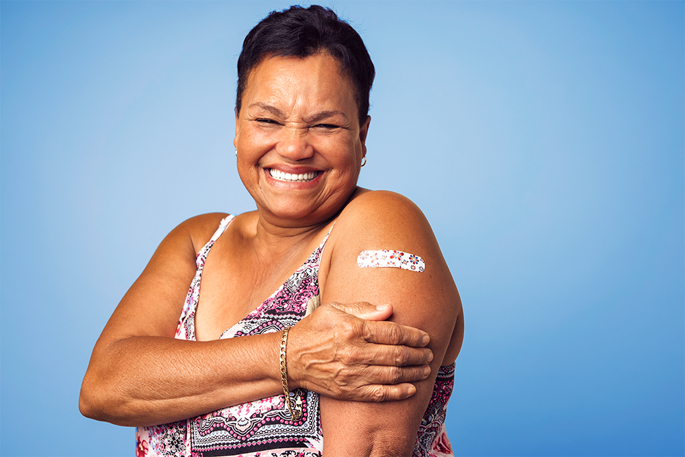 vaccinated_woman_with_bandage